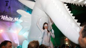 Festival looppakken inflatable publi air