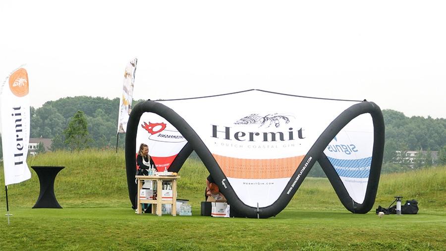 Signus - Tent- Hermit- Publi air- Golf- Golfclub