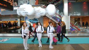 looppakken inflatable publi air promowalkers