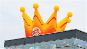 Opblaasbare reclame kroon - Publiair Burgerking Crown inflatable