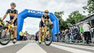 Opblaasbare boog - Publi air Koga inflatable startboog finishboog- wielrennen - match - wedstrijd
