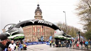 Opblaasbare boog - publi air mizuno inflatable - boog - arch- rusland- hardlopen - running - wedstrijd