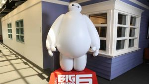 BIG HERO 6 - Publi air for Disney- inflatable character - retail - opblaasbaar karakter - theatre decor