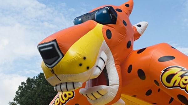 Publi air voor Pepsico Cheetos - springkussens