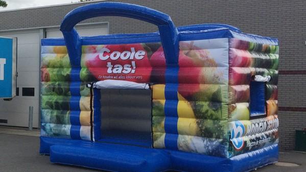 maatwerk springkussen - Publi air voor Hoogvliet Coole tas springkussens