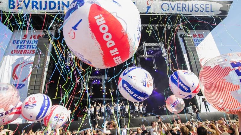 Festival ballonnen crowdballs publieksballen items voor uw publiek - Publi air