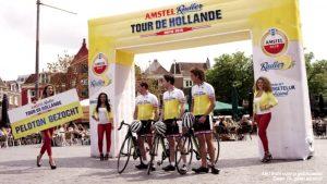 Opblaasbare boog startboog finishboog - wielrennen cycling - opblaasbaar - Publi air - inflatable