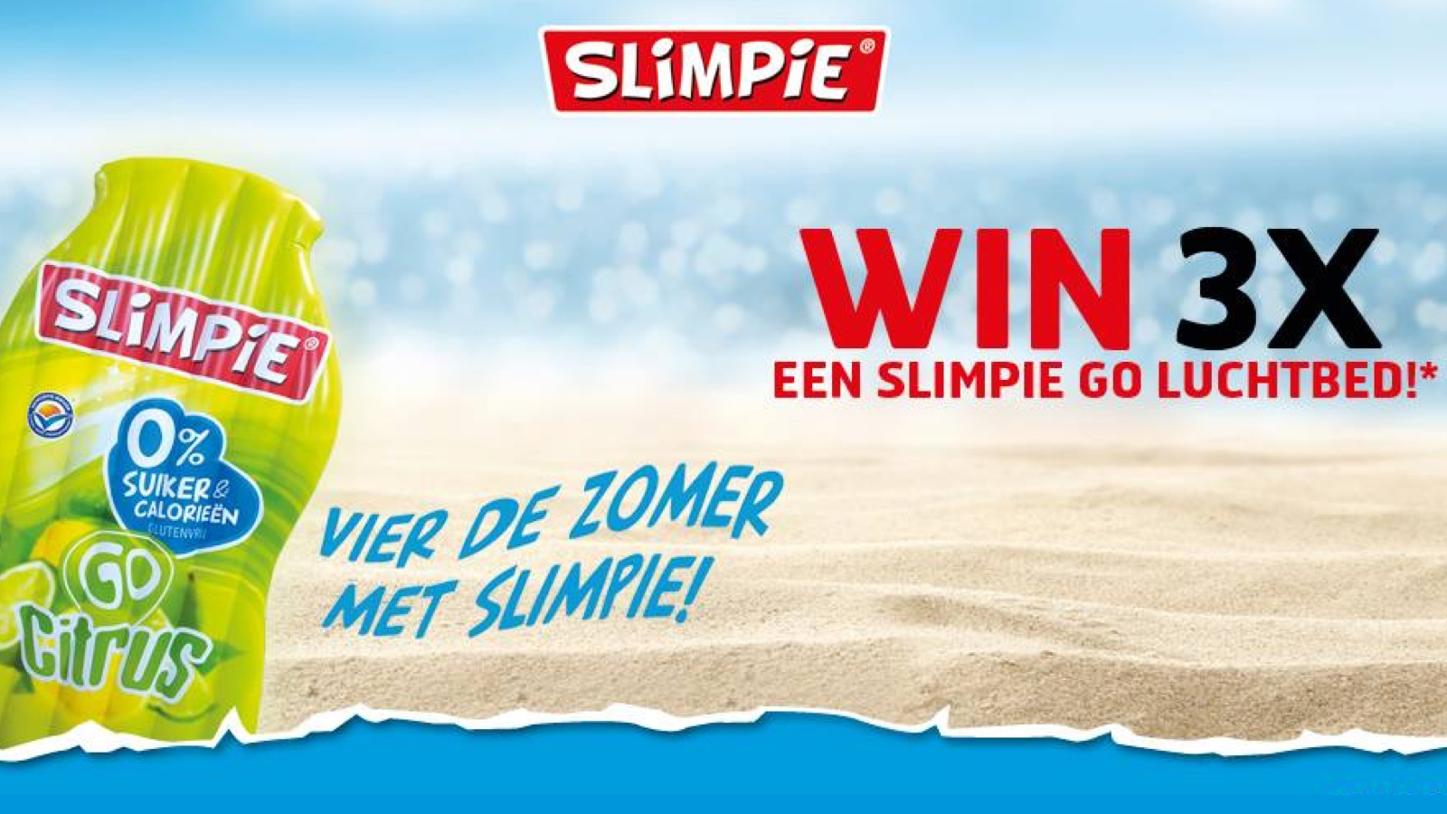 Custom made luchtbedden winactie - Slimpie - Publi air