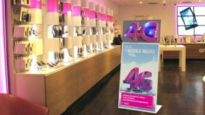 T-Mobile pos materiaal