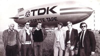 Zeppelin reclame 1972 - TDK - Publi air