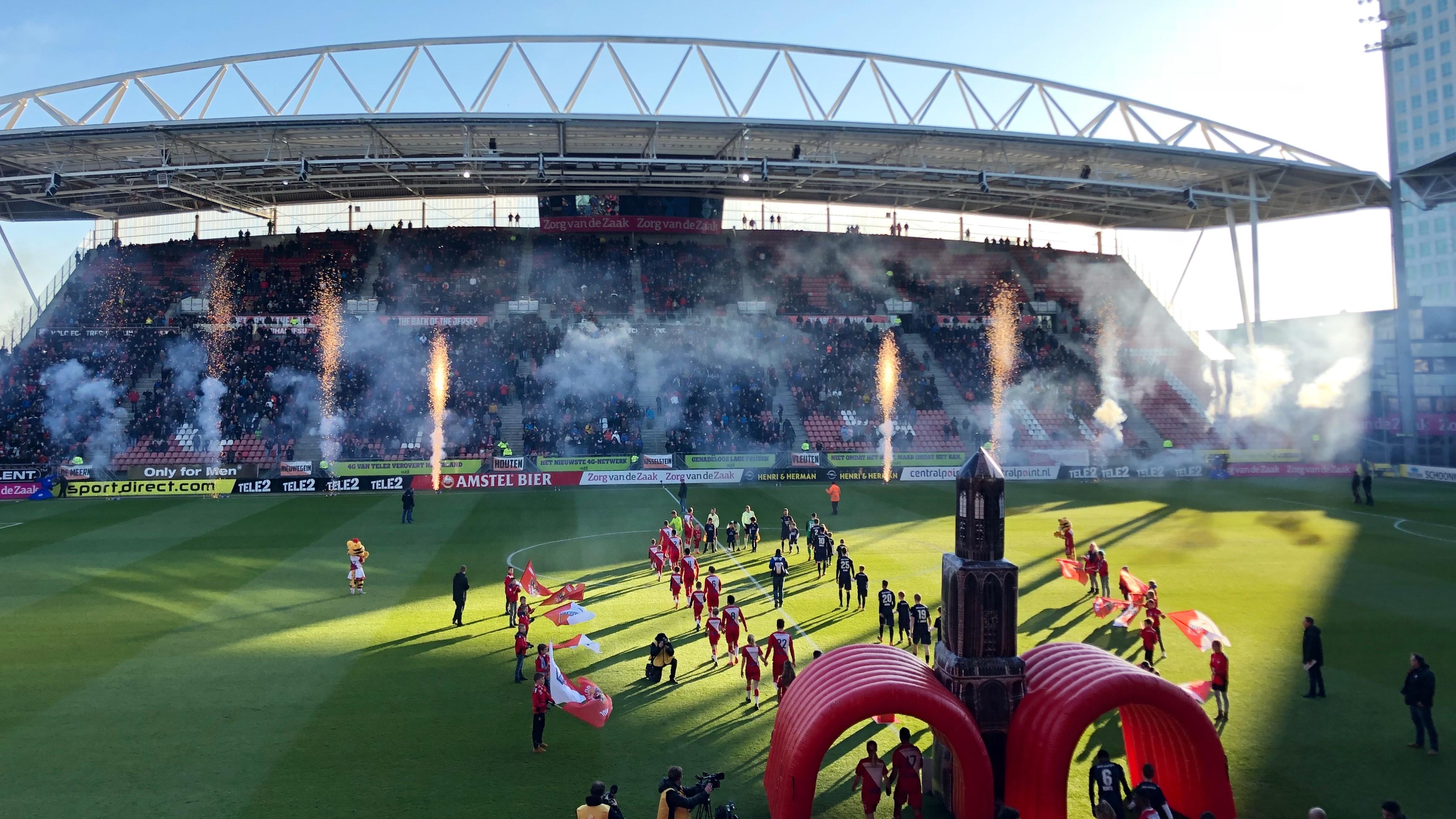 FC Utrecht Opblaasbare welkomstboog
