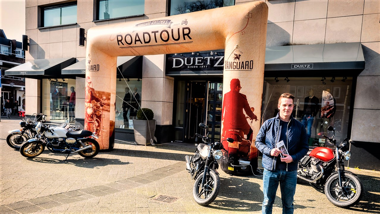 Opblaasbare entree boog - Publiair voor Vanguard Roadtour toegang boog retail inflatable entrance arch