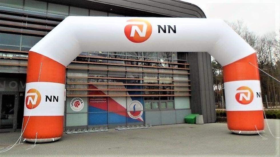 Opblaasbare wedstrijd boog - Publiair voor NN start finish boog sportevenement inflatable arch