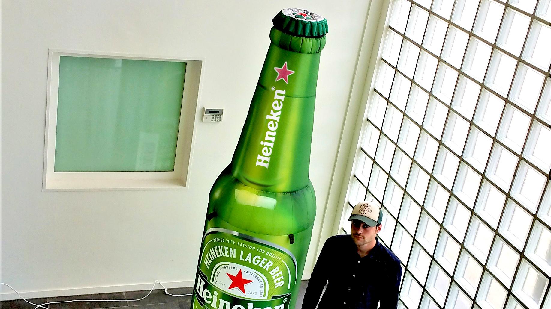 Opblaasbare flessen