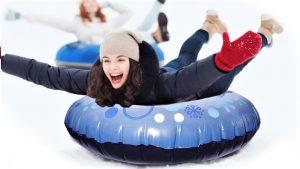 inflatable - band- snow - winter- sleigh publi air - opblaasbaar - sneeuw - snow fun - premium