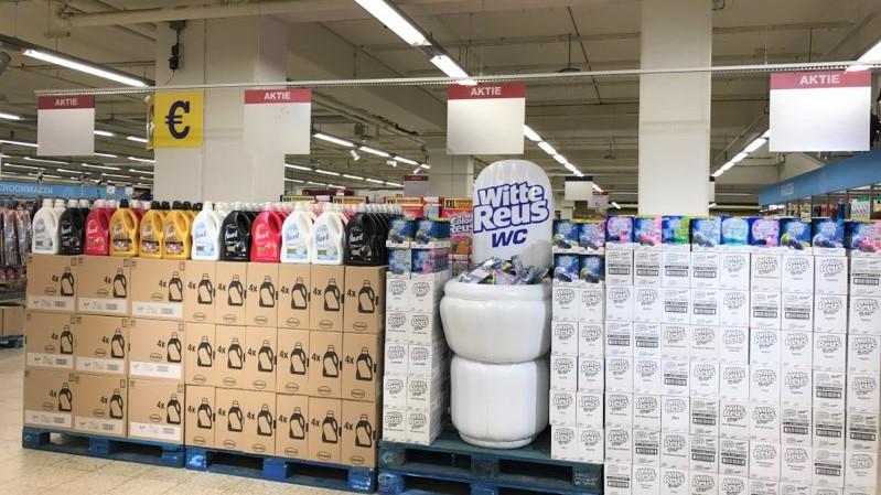 POS toilet Witte reus