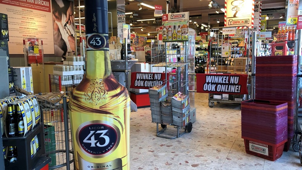 display stackawrap licor 43 publi air