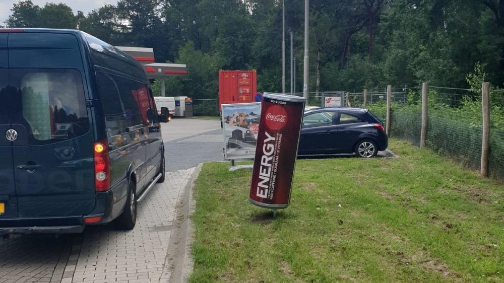 Reclame tankstations publi air