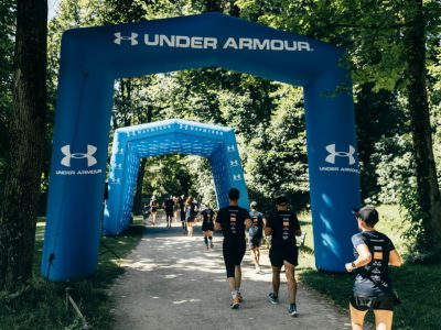 under armour, sportboog, sport event marketing, publi air