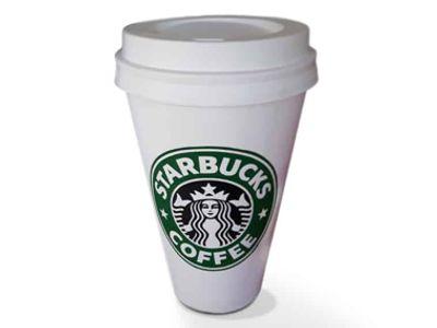 solid starbucks koffiebeker
