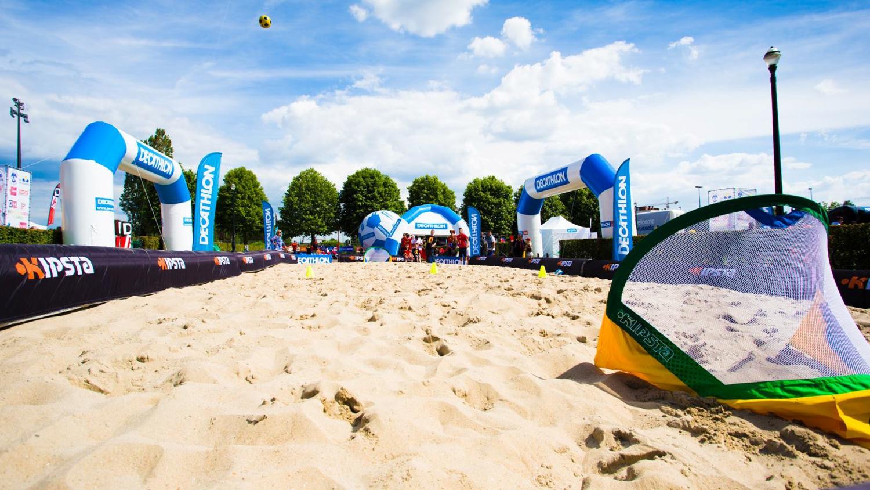 Decathlon opblaasbare boarding sportmarketing campagne – Publiair