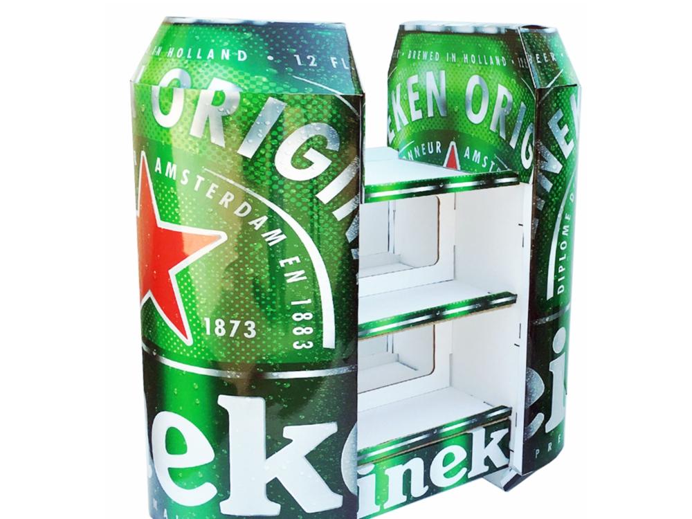 Heineken-bridge-display-3D-instore