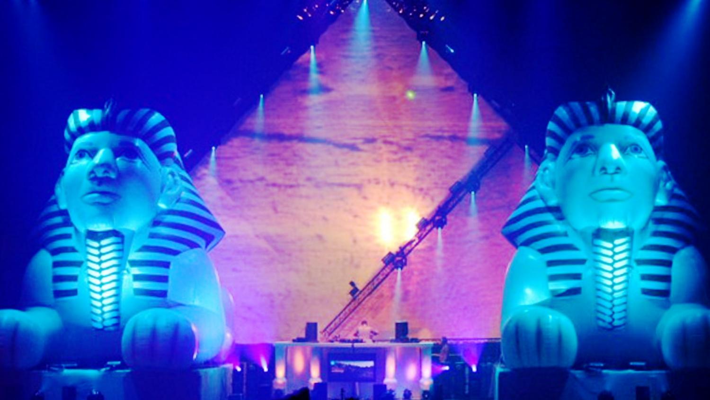 Dance inflatable opblaasbare Sfinx